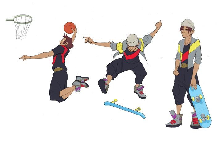 Skate-flip