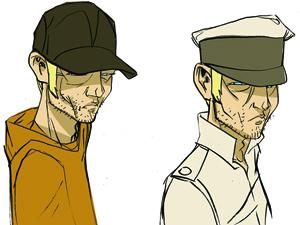 Character design- Werner Herzog